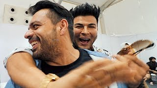 "Sahil Khan taking my ""Phirki"" at Bodypower 2019"