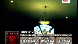 Download lagu FIVE MINUTES-AISAH(OFFICIAL VIDEO)