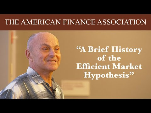 A Brief History of the Efficient Market Hypothesis