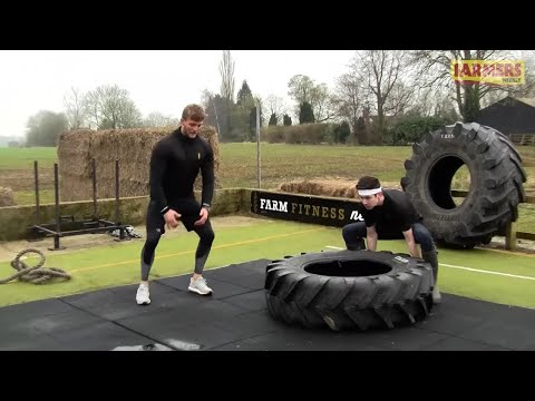 Farmers Weekly's Oli Hill tries an intense farmer's workout