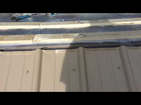 metal roofing installation and details