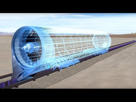 Hyperloop One Successfully Tests High Speed Transport Propulsion System In Us Youtube
