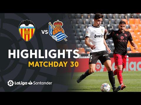 Valencia Real Sociedad Goals And Highlights