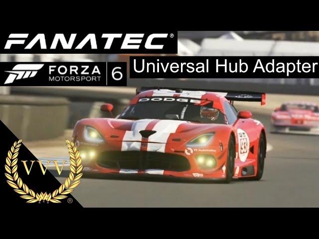 Fanatec Universal Adaptor Testing - Forza 6, Laguna Seca