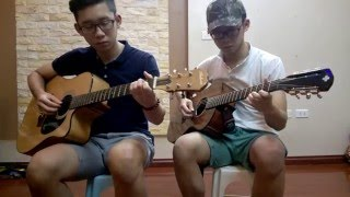 Talk Love - VAVH Guitar Duet (with TAB)