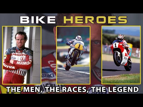 Bike Heroes - Schantz, Mamola, Rainey, Lawson and Gardner