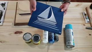 String ART for beginners! (what supplies do you need?)