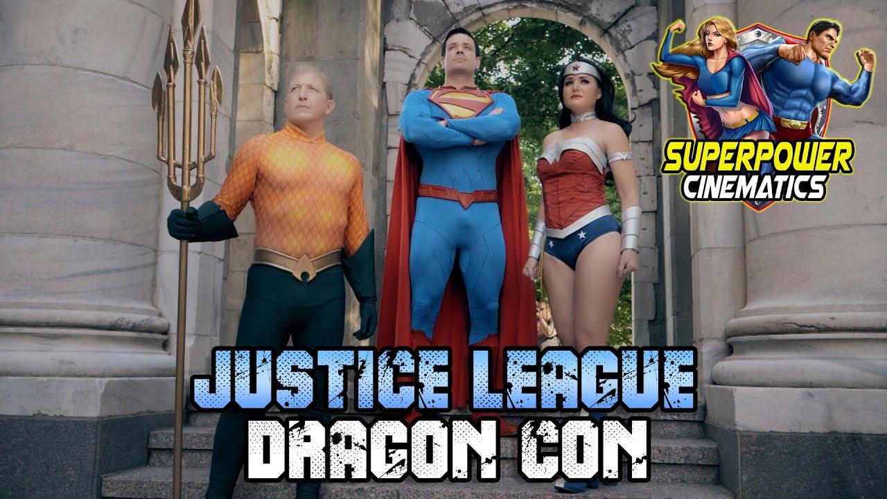New 52 Justice League DRAGON CON!