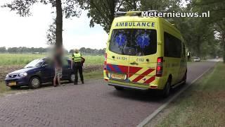 Vrouw gewond na aanrijding in Aalden