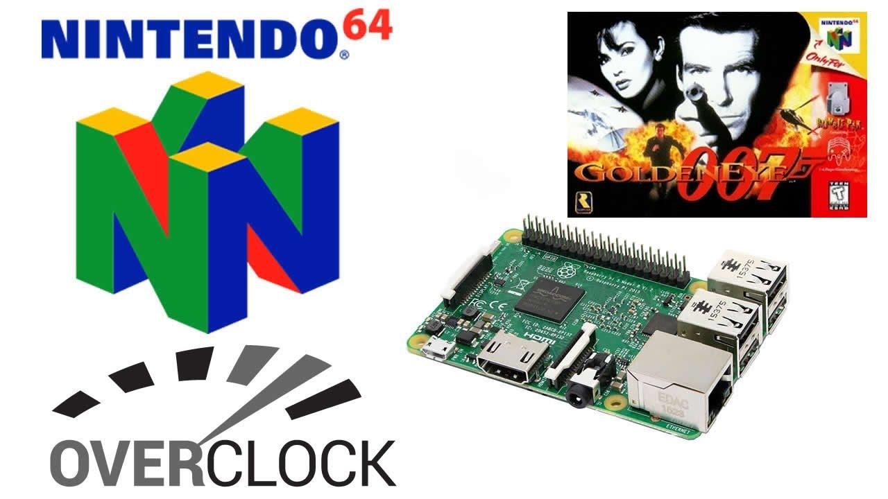 raspberry pi 3 n64 emulator