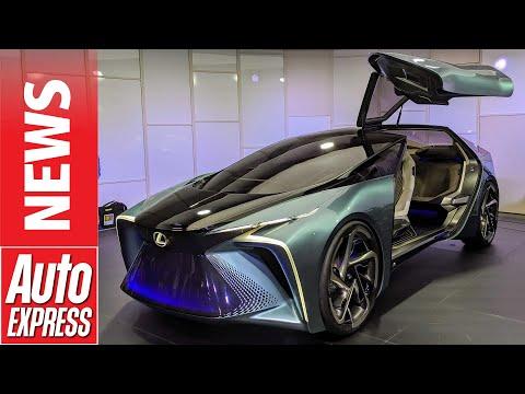 Lexus LF-30 - Wild Flagship EV Concept Previews Future For Lexus