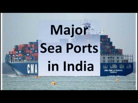 Major sea ports in India-how to remember Easily