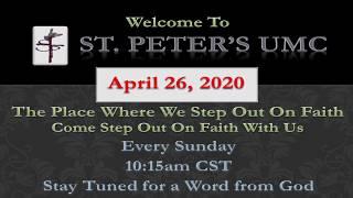 St. Peter's UMC Worship 4-26-20