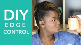HOW TO: DIY Edge Control with Flax Seed Gel, Honey, and Castor Oil