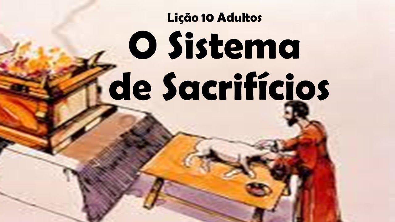 Resultado de imagem para Lição 10 - O Sistema de Sacrifícios