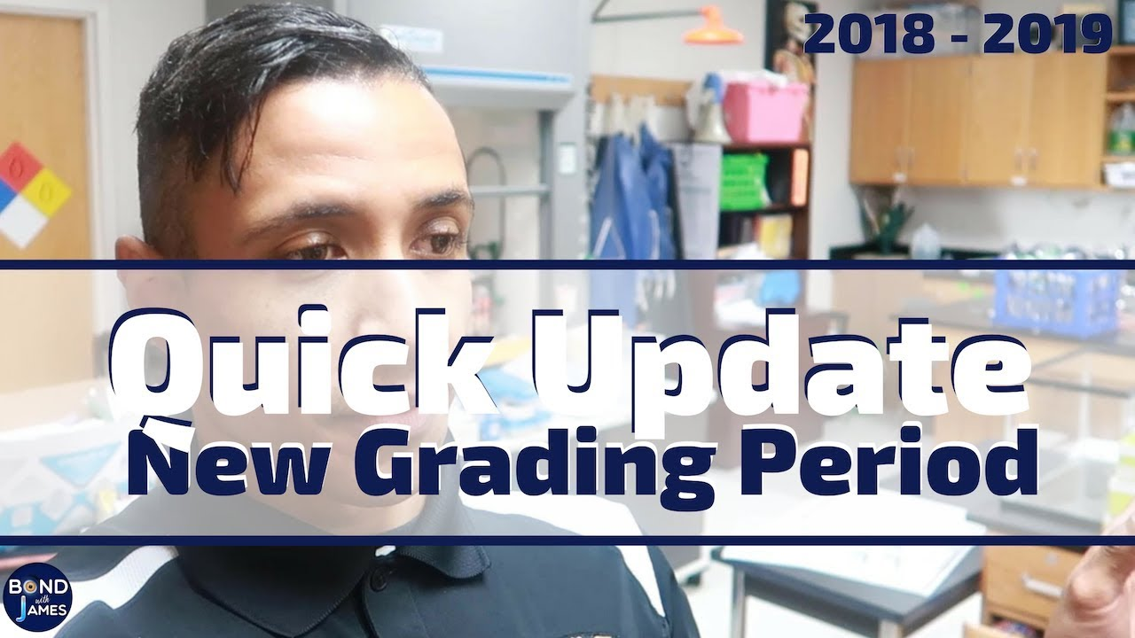 A Week in the Life of a Teacher   New Grading Period