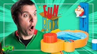 FUNBOXING | HOT TUB HIGH DIVE