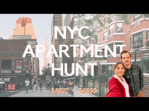 NYC Apartment Hunting | What $2000 And $2500 Per Month Gets You In Manhattan