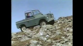 Land Rover Series III Driving Techniques