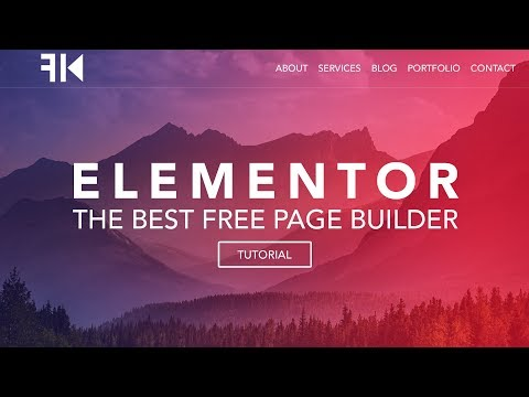 How To Make A Wordpress Website | Elementor