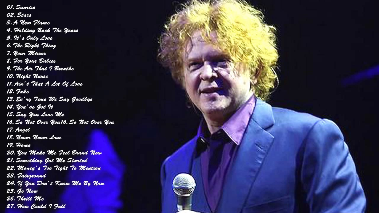 simply red greatest hits youtube