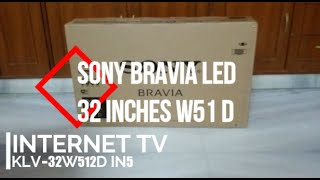 Sony BRAVIA KLV-32W512D 32 inch LED TV UNBOXING 2016 HD