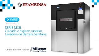 Lavadoras con Barreras Sanitarias FXB y MXB | Efameinsa