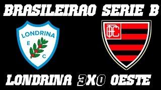 Melhores Momentos - Londrina 3 x 0 Oeste - Campeonato Brasileiro Série B (01-10-16)