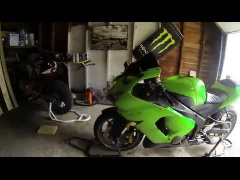 How To Remove Motorcycle Fairings: Kawsaki ZX6R