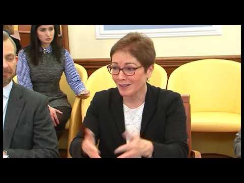 telekanal Vektor: Зустріч з Послом США в Україні Марі Йованович
