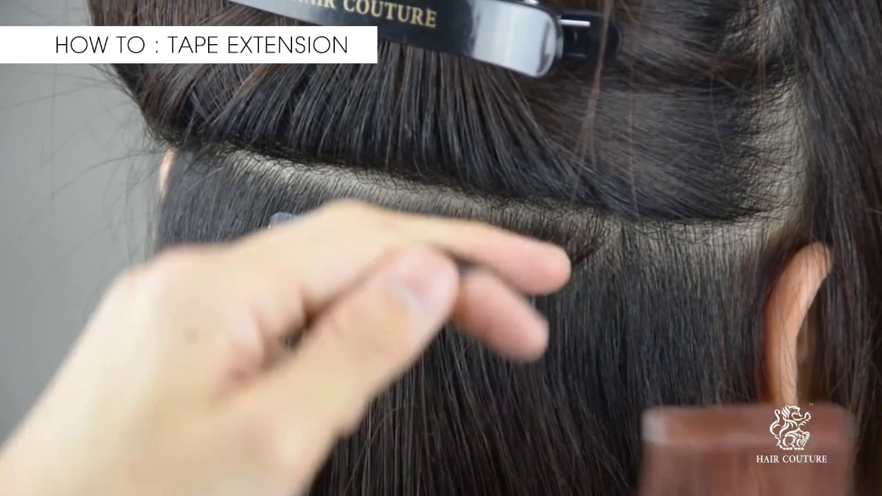 Diy tape in hair extensions tutorial youtube diy tape in hair extensions tutorial solutioingenieria Image collections