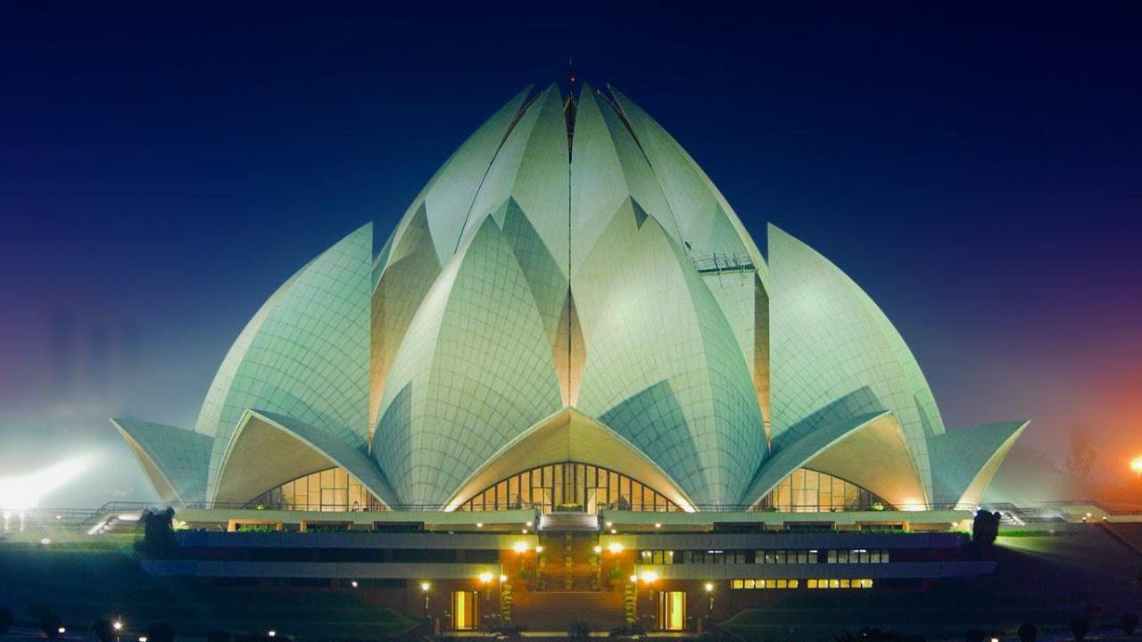 Lotus Temple in India: photos and description 60