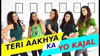 Teri Aakhya Ka Yo Kajal | Sapna Chaudhary | Dance Fitness Choreography | FITNESS DANCE With RAHUL