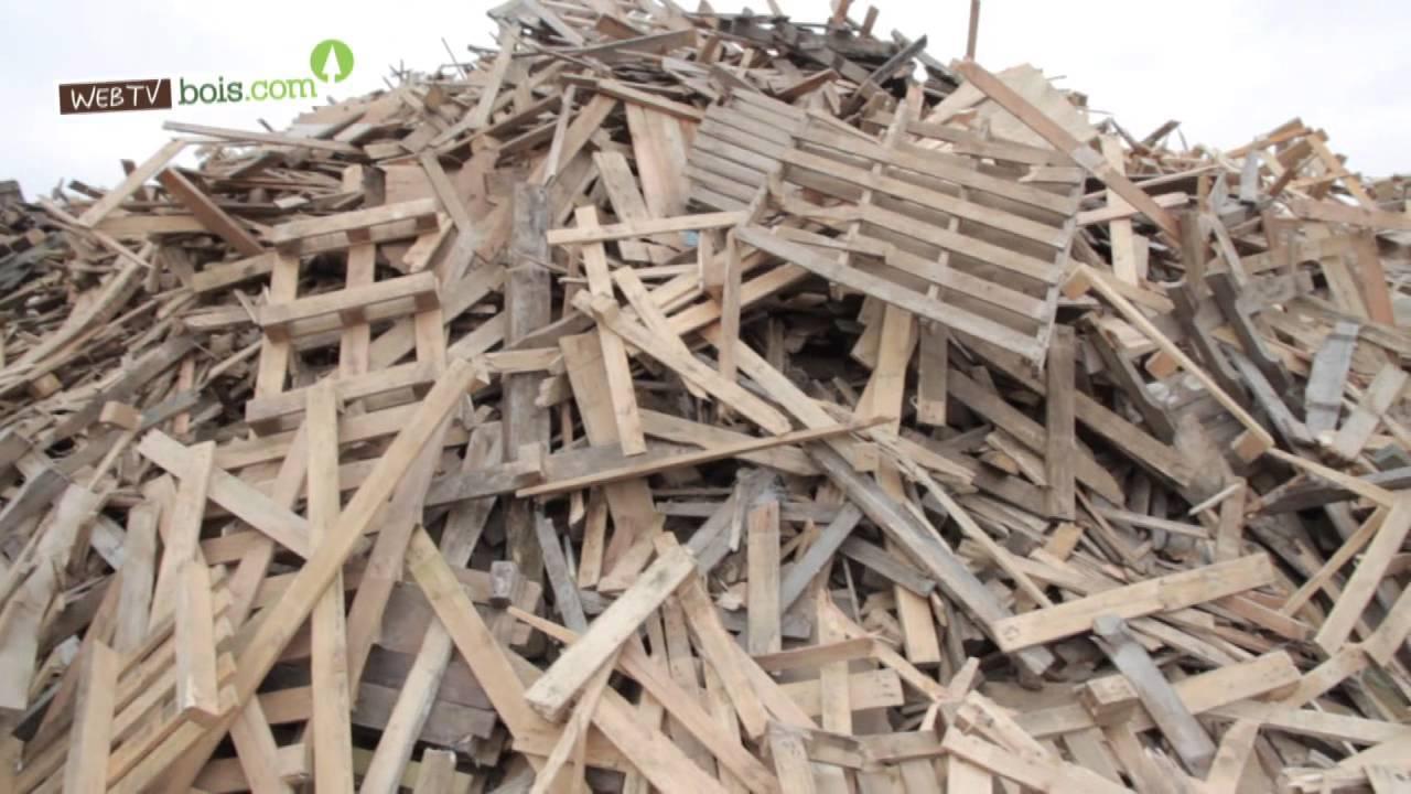 Bois et recyclage veolia recyclage valorisation des for Recyclage de palettes en bois
