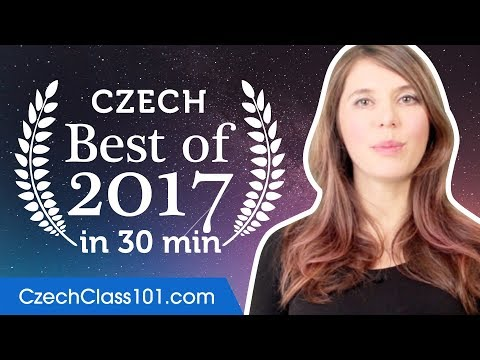 Learn Czech in 30 minutes - The Best of 2017