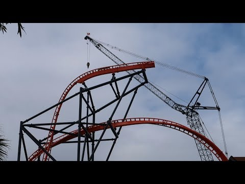 New Busch Gardens Roller Coaster Construction Update & Ride POVS! | Ride Roller Coasters With Me!