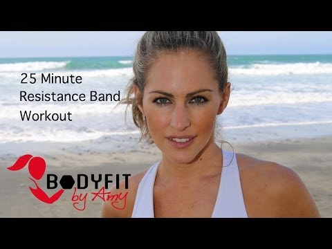 25 Minute Resistance Band Workout