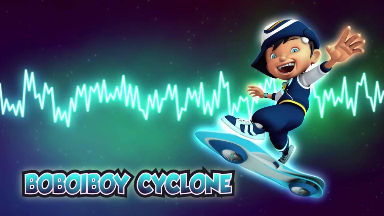 boboiboy ost cyclone theme youtube