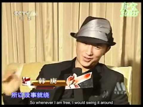 [EngSub]110511 Interview of Han Geng & Wu Chun - My Kingdom (By China Movie News)