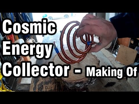 Cosmic Energy Collector - Making Video