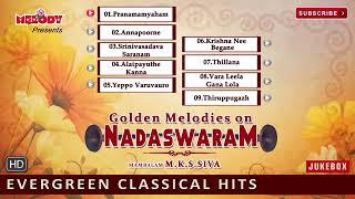 Golden Melodies On Nadaswaram   Nadaswaram Instrumental   Evergreen Classical Hits