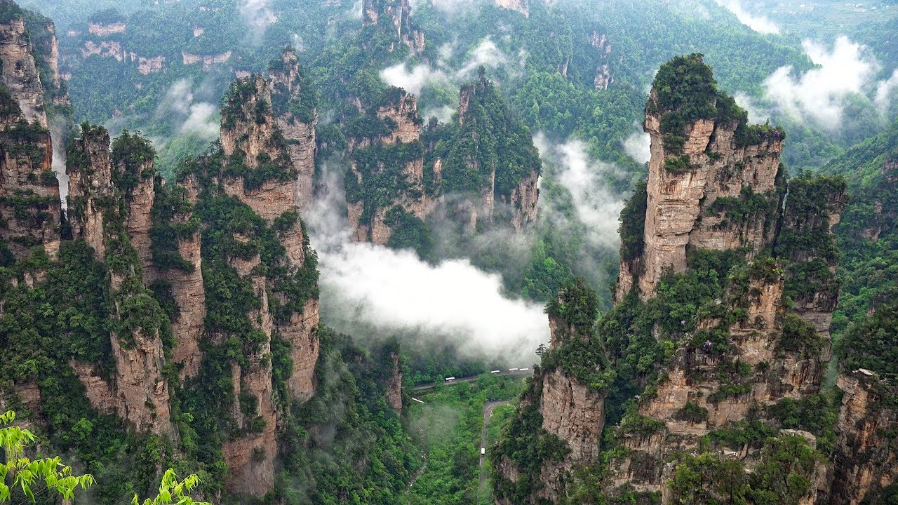 6 beautiful places in China