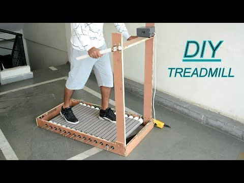 How To Make Treadmill At Home - Running Machine