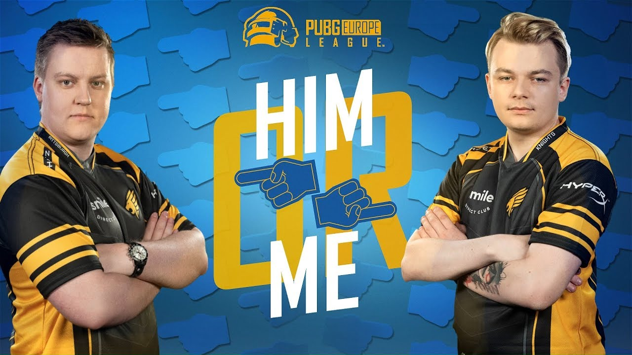 Pittsburgh Knights play: Him or Me? • PEL • Phase 3