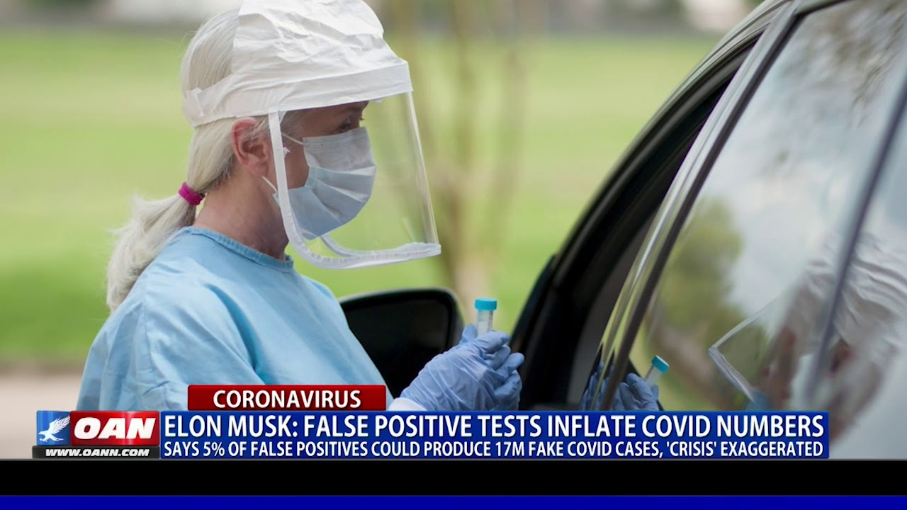 Elon Musk: false positive tests inflate COVID numbers