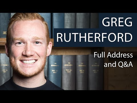 Greg Rutherford | Full Address and Q&A | Oxford Union