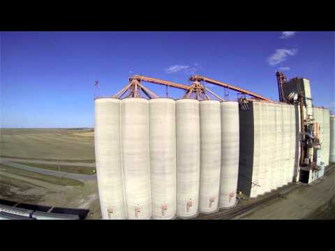 Weyburn Saskatchewan Canada Quadcopter FPV Aerial Video