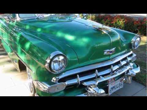 Classic cars - 1954 Chevrolet Bel Air Convertible