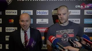 Патрик Херсли после матча со «Спартаком»