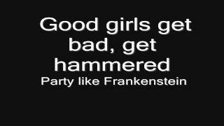 Lordi - Nailed By The Hammer Of Frankenstein (lyrics) HD